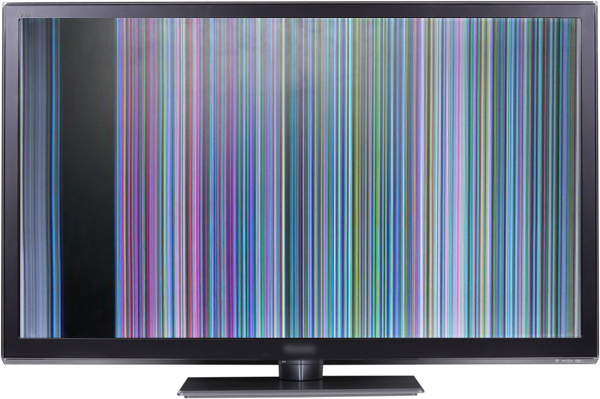 алюминиевую резко монитор стал мигать разноцветными цветами голос это пять